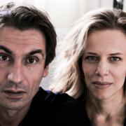 Sonia Bergamasco e Fabrizio Gifuni