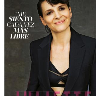 Juliette Binoche | Photo Angelo Cricchi for Mujer Hoy