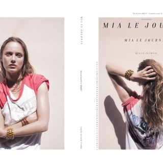 Mia Le Journal Issue N°4 | EDEN Cover Story with Karmen Pedaru | Photo by Angelo Cricchi