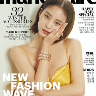 Han Ye Seul for BVLGARI | Marie Claire Korea at Lostandfoundstudio