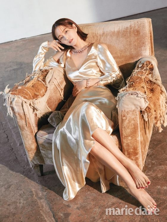 Han Ye Seul for Marie Claire at Lostandfoundstudio