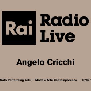 Non Solo Performing Arts — Rai Radio Live